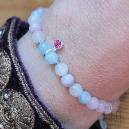 october charm bracelet