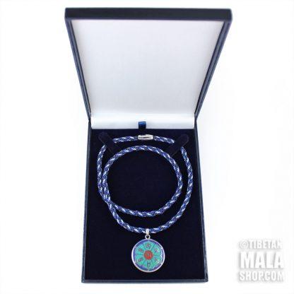 om mani necklace gift box