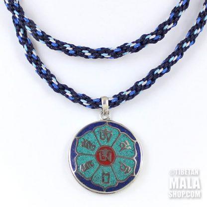 om mani tibetan pendant