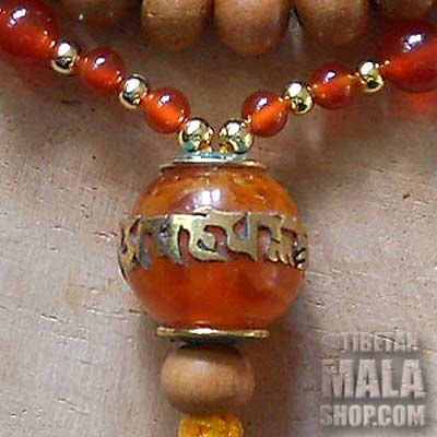 om mani yoga mala beads