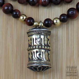 prayer wheel yoga beads