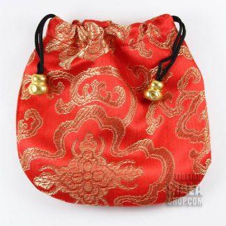 red lotus mala bag
