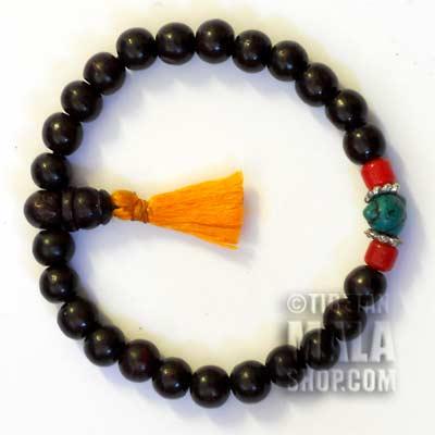 rosewood bracelet mala
