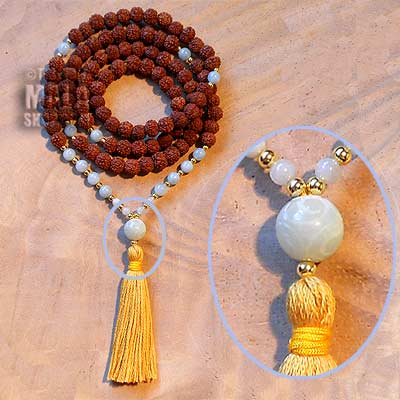 rudraksha buddhist mala beads