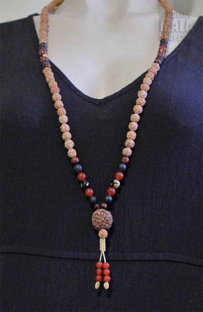 rudraksha mala necklace