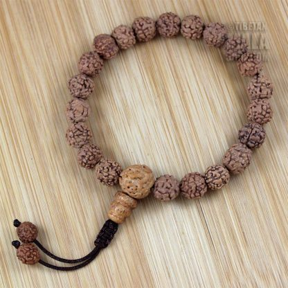 rudraksha wrist mala beads