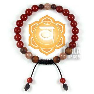 sacral chakra bracelet