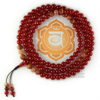 sacral chakra mala