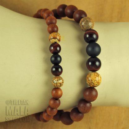 sandalwood bracelet beads