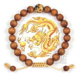 sandalwood dragon bracelets