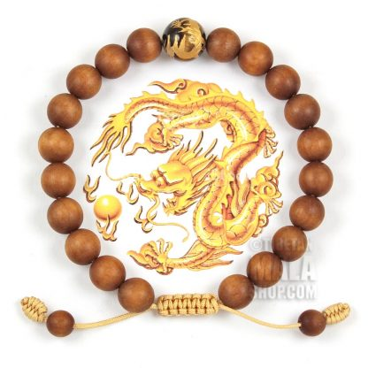sandalwood dragon bracelets