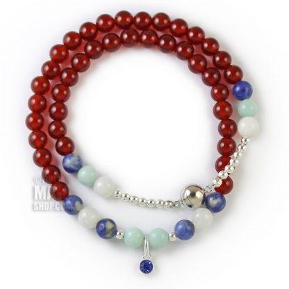 september birthstone wrap bracelet