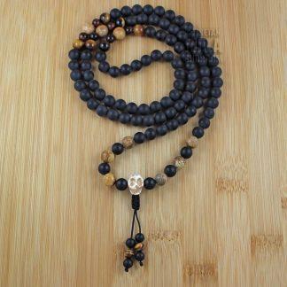 skull prayer beads