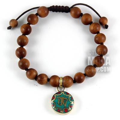 tibetan om bracelet