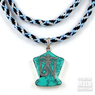 tibetan om pendant