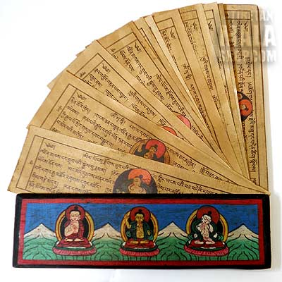 tibetan prayer book
