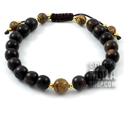 tiger ebony yoga bracelet