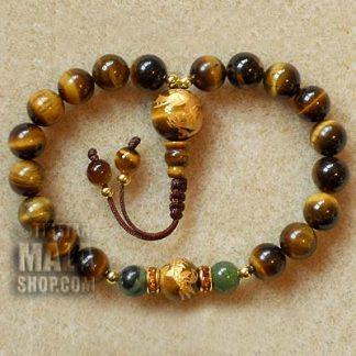 tigers eye mala bracelet