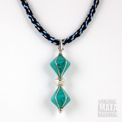 turquoise dorje necklace