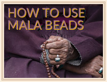 How to use Mala Beads